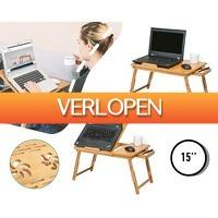 1DayFly Tech: Bamboe laptoptafel