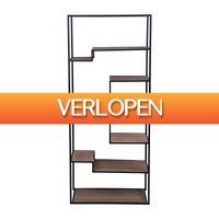 Xenos.nl: Metaal met MDF vakkenkast