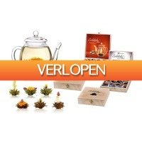 Groupon 3: Cadeauset van Blooming Tea