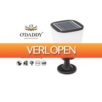 Stuntwinkel.nl: O' Daddy LED solar sokkel tuinlamp Izar