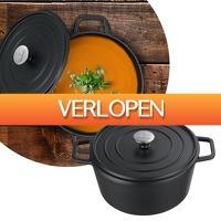 DealDigger.nl 2: Gietijzeren casserole pan