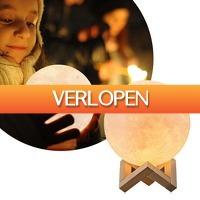 DealDigger.nl 2: 3D maanlamp