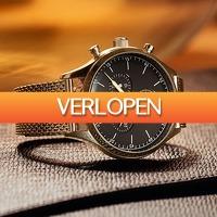 Watch2day.nl: Hugo Boss mesh HB1513548 heren horloge