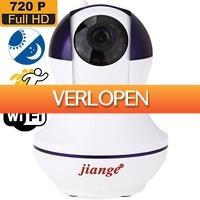 Uitbieden.nl 2: WiFi 720p IP camera met bewegingsdetectie & Night Vision