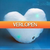 Gadgetknaller: Glow Pillow hartvormig LED-kussen