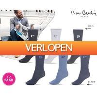 Dealwizard.nl: 12 x Pierre Cardin sokken