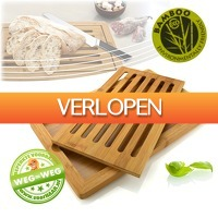 voorHAAR.nl: Handige bamboe broodplank