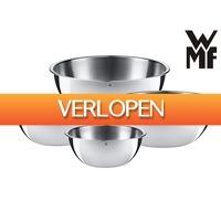 iBOOD Home & Living: 4-delige WMF Gourmet keukenschalenset Cromargan