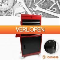 Wilpe.com - Tools: Toolwelle robuuste gereedschapswagen