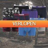Kiesjekoopje.nl: 6-pack Puma boxershorts