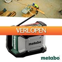 Wilpe.com - Tools: Metabo R12-18 accu bouwradio