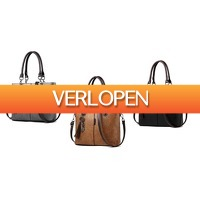 GroupActie.nl: Vintage western tas in nubuck style