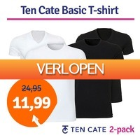 1dagactie.nl: 2 x Ten Cate Basic T-shirt