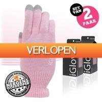 voorHAAR.nl: 2 paar iGlove touchscreen handschoenen