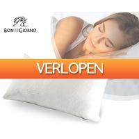 Voordeelvanger.nl 2: Bon Giorno traagschuim hoofdkussen