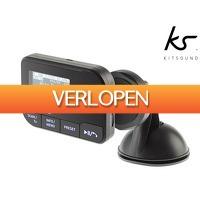 iBOOD Electronics: Kitsound DAB+ auto-adapter