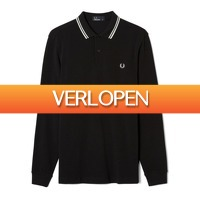 Plutosport offer: Fred Perry LS Twin Tipped Polo