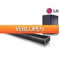 iBOOD.be: LG soundbar en subwoofer