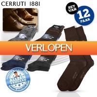 voorHEM.nl: 12 paar Cerruti herensokken