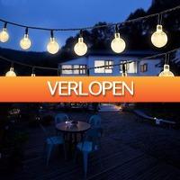 Dealbanana.com: LED-ballen op zonne-energie