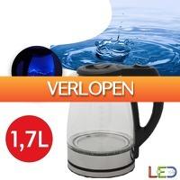 Wilpe.com - Home & Living: Adler glazen LED waterkoker
