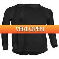 Plutosport offer: 2 x Avento Thermal LS shirt