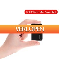 Priceattack.nl: 10000 mAh Mini Dual USB Powerbank