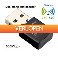 ClickToBuy.nl: 600 Mbps Dual Band USB WiFi adapter