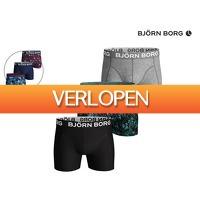 iBOOD.com: 3 x Bjorn Borg boxershorts