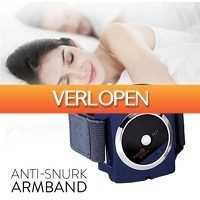 Slimmedealtjes.nl: Anti-snurk armband