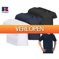 Voordeelvanger.nl 2: 10-pack Russell T-shirts