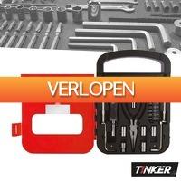 Wilpe.com - Tools: Tinker gereedschapskoffer 22-delig