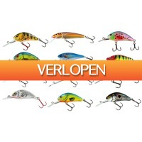 Visdeal.nl: Salmo Pro Pack met 12 pluggen + Ultimate Tacklebox