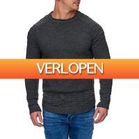 Brandeal.nl Classic: Tazzio Pullover met ronde hals