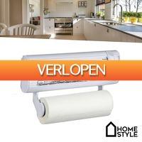 Wilpe.com - Home & Living: HomeStyle keukenrolhouder