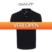 Dealwizard.nl: Gant poloshirt Solid Rugger