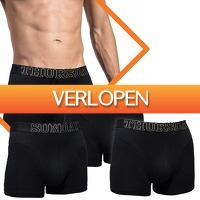 Dealwizard.nl: 7 pack boxershorts | Everyday of the week by Gentlemen