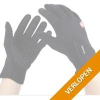 Thermische touchscreen handschoenen