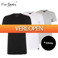 Elkedagietsleuks HomeandLive: 4 Pack  Pierre Cardin T-shirts