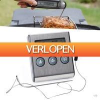 Wilpe.com - Home & Living: Digitale vleesthermometer RVS
