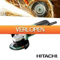 Wilpe.com - Tools: Haakse Hitachi Hikoki slijper 125mm