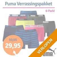 6 x Puma boxershorts