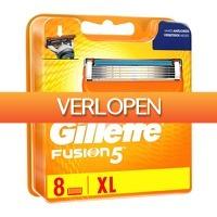 GroupActie.nl: 8-Pack Gillette Fusion 5 scheermesjes
