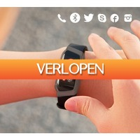 Koopjedeal.nl 1: Bluetooth smartwatch activity tracker Pro Edition