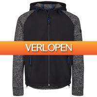Brandeal.nl Classic: Solid jacket met capuchon