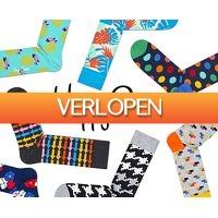 Groupdeal 2: 6-pack Happy Socks sokken