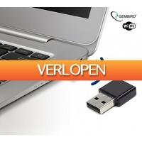 Koopjedeal.nl 2: Krachtige Mini WiFi Adapter van Gembird (300 Mbps)