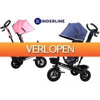 VoucherVandaag.nl: Buggy met driewieler van Kinderline nu met 50% korting