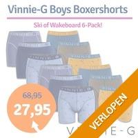 6 x Vinnie-G Boys boxershorts