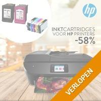 Inktcartridges geschikt voor HP printers